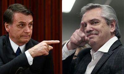 Fernández-Bolsonaro, polarización que podría complicar al Mercosur