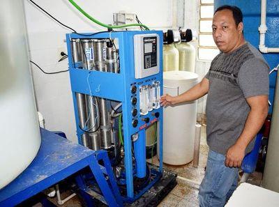 Reparación provisoria de sistema de agua