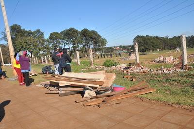 Desalojan nuevamente a invasores de exgranja Jebai en el barrio Don Bosco