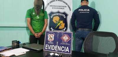 Antinarcóticos atrapan a sujeto con 20 gramos de cloridrato de cocaína