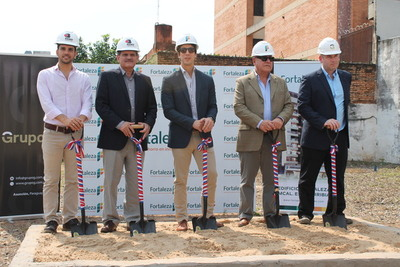 Realizan palada inicial del edificio Fortaleza Mariscal Estigarribia