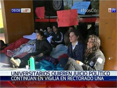 Universitarios invitan a movilización a favor del juicio político
