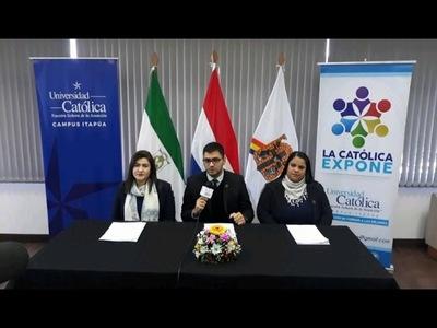 """LLEGA """"LA CATÓLICA EXPONE"""",  EN SU TERCERA EDICIÓN"""