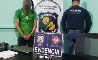 Supuesto distribuidor de drogas detenido