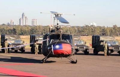 Vehículos tácticos y helicópteros para fortalecer la lucha contra el crimen organizado