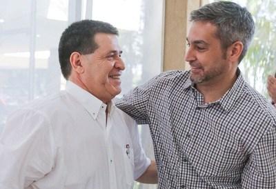 Duarte Frutos considera clave para gobernabilidad acuerdo amistoso entre Abdo y HC