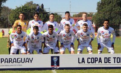 Sol de América de Pastoreo avanza en la Copa Paraguay