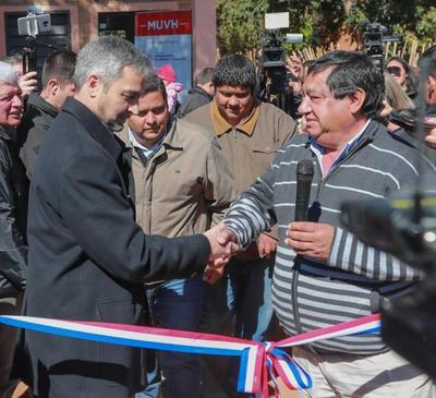 Nuevas viviendas sociales fueron entregadas a 70 familias de Yaguarón