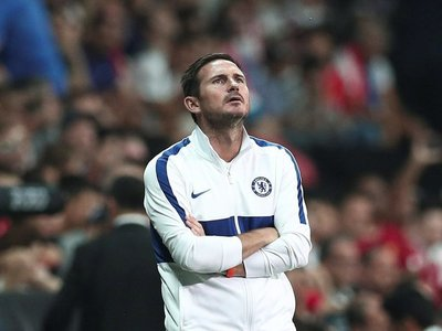 "Lampard considera la derrota ""mala suerte"" tras un buen juego"