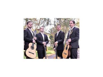 Cuarteto brasileño de guitarra ofrece concierto gratuito
