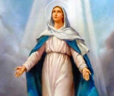 Hoy se celebra la Asunción de la Virgen María.