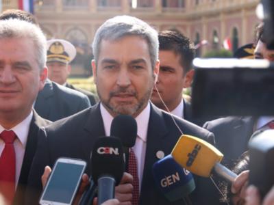 'Mi liderazgo me trajo a ser presidente de la República', sostiene Mario Abdo