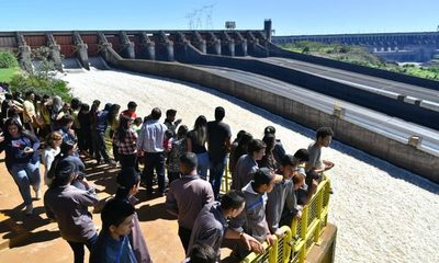 Visitas turísticas a la Central Hidroeléctrica quedan suspendidas hoy, desde el mediodía