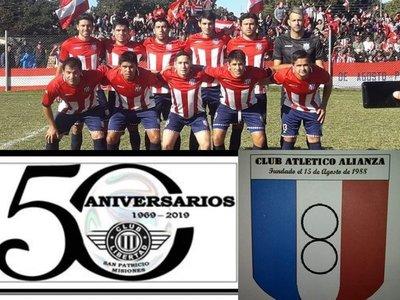 De parabienes los clubes: 15 de Agosto de Santiago, Alianza de Ayolas y Libertad de San Patricio