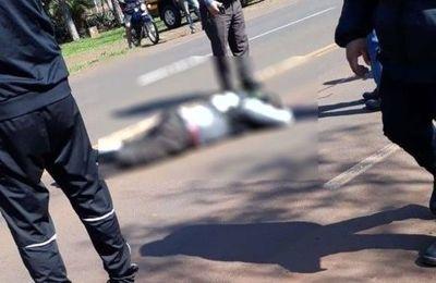 Agente de la patrulla caminera fallece tras ser embestido en un control