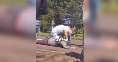 HOY / Agente de la Caminera murió tras ser arrollado durante servicio
