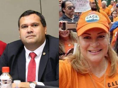 "Derlis Maidana; ""Maria Esther Roa quiere ser candidata por eso su afan de escrachar"""