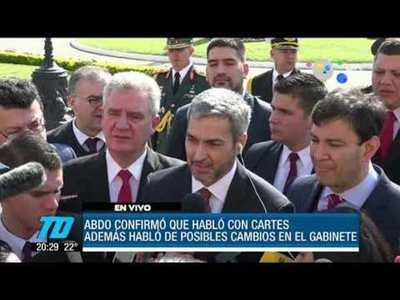 Petta, Villamayor y Wiens seguirán en sus cargos anunció Mario Abdo