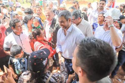 Mandatario habilitará Unidad de Salud de la Familia, tramos viales y viviendas en San Pedro