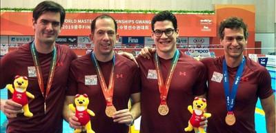 Nadadores paraguayos campeones del mundo