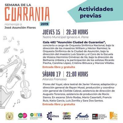 Presentan una variada agenda en Semana de la Guarania
