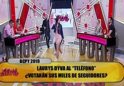 "LaurysDiva abandonó ""TeleShow"" y discutió con Álvaro Mora"
