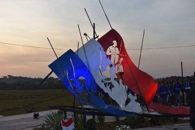 Inauguran monumento a niños mártires de Acosta Ñu