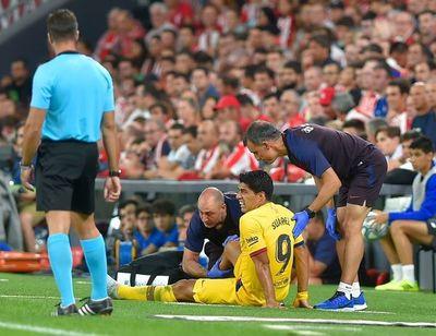 Luis Suárez tiene una lesión en el sóleo