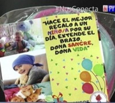 Día del niño: Donar sangre es el mejor regalo