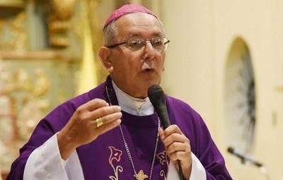 Monseñor niega agresión de manifestantes