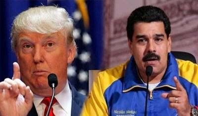 """Maduro: """"Donald Trump le hace a Venezuela lo que Hitler le hizo al pueblo judío"""""""