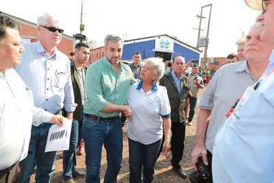 Mandatario invitó a todos los paraguayos a unirse para impulsar el desarrollo del país