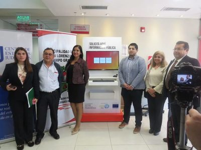 Habilitaron ventanilla de Acceso a la Información Pública en San Lorenzo