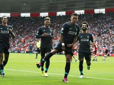 Mané y Firmino dan triunfo al Liverpool