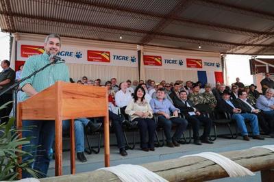 En la 45º Expo Rodeo Trébol, Presidente reitera compromiso de continuar apoyando el desarrollo vial del Chaco