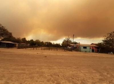 Incendio de gran magnitud se registra en el Pantanal paraguayo