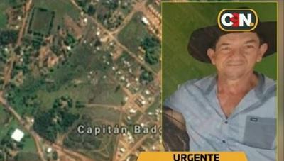 Hallan sin vida a estanciero secuestrado en Capitán Bado
