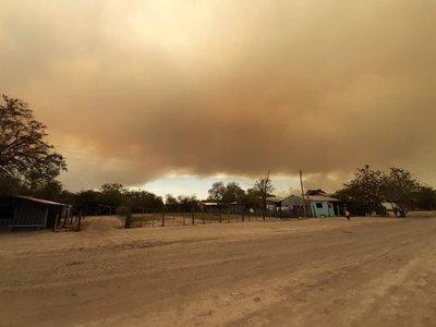 Controlan incendio en reserva del Chaco y verifican región afectada