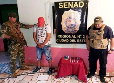Cae supuesto proveedor de crack en Hernandarias