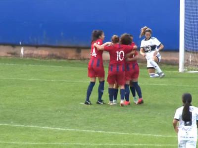 Cerro se impone a Olimpia en el arranque del fútbol femenino