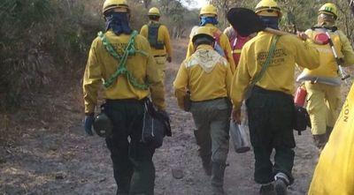 Controlan incendio forestal en Bahía Negra