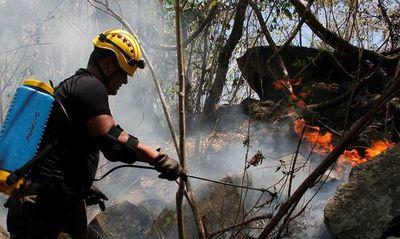"""Declaran """"desastre departamental""""por incendios"""