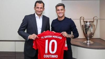 HOY / El Barça cede un año a Coutinho al Bayern