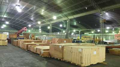 EBY recibe equipos para montaje de las barras de 500 KV