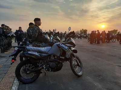 Grupo Lince recibió 200 motocicletas para fortalecer seguridad ciudadana