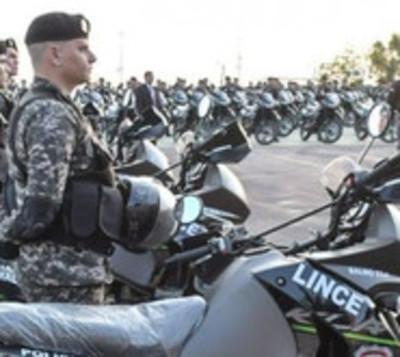 Linces reciben 200 motos de alta cilindrada