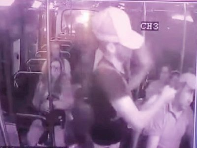 VIDEO: Seis asaltantes crean terror en un  colectivo
