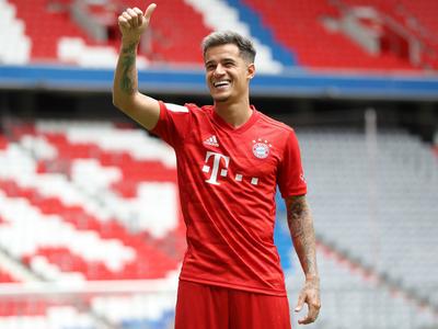 Coutinho es presentado en Bayern Múnich