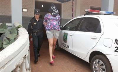 Embarazada y su pareja detenidos por millonario hurto a boutique