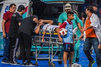 """Miguel Samudio: """"quiero agradecer a la gente de Cerro"""""""